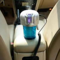 China 15W Fashionable design Power Saving Mini Ionic Car Air Purifiers with Color Box Packing on sale
