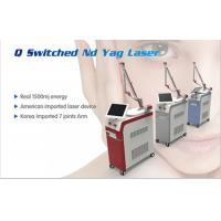 China High power Q Switch Nd Yag Laser Beauty Device Laser Tattoo Removal Machine with a good Price wholesale