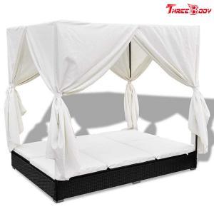 China Comfortable Outdoor Furniture Sofa , Cream White Outdoor Garden Furniture Lounge Sofa wholesale