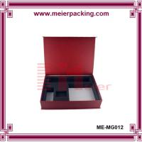 recycled printed cardboard paper box with flocking insert ME-MG012