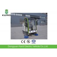China Smart Electric Patrol Car / Full Closed 48V DC Motor Street Electrical Sweeper Vehicle wholesale