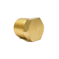 China Low pressure Brass Threaded Hex Pipe Fittings Nipple For Plumbing wholesale