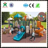 China Preschool Play Equipment  Outdoor Playground for Schools QX-006C wholesale