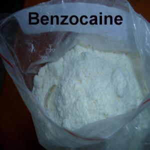 China Polvo cristalino blanco de la malla anestésica local farmacéutica del polvo 40 del Benzocaine wholesale