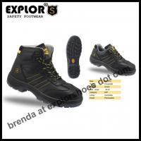 China men's ankle boots composite toe boots black work boots safety shoes for women on sale
