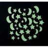 China Glow in the dark Kids wall design dog wall sticker wholesale
