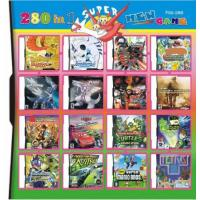 China 280 in 1 280 in one Multi games Card for DS/DSI/DSXL/3DS Game Console wholesale