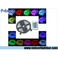 China 60 Led 3528 SMD LED Strip Lights With 24 Key RF Remote Controller Adapter wholesale