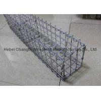 China Prefabricated Gabion Rock Wall Cages For Bridge Protection , Hot Dipped Galvanized Wall Baske wholesale