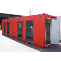 China Dormitory Custom Made 40ft Modified MetalShipping Container Homes wholesale