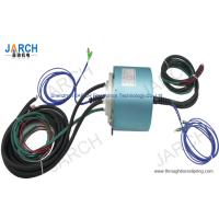 China 2 Channel Electro Optical Slip Ring / Rotating Electrical Connector Slip Ring , 24-2A Circuits wholesale