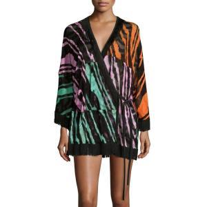 China Mature woman kimono beautiful print Chiffon fabric kimono for women wholesale