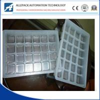 China Transparent Electronic Component Trays , PVC / PET Vacuum Formed Thermoformed Trays on sale
