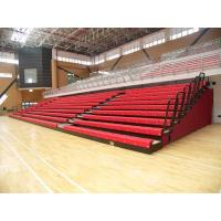 China Aluminum Collapsible Bleachers Seating Firepoof For School Sports High Load Capacity wholesale