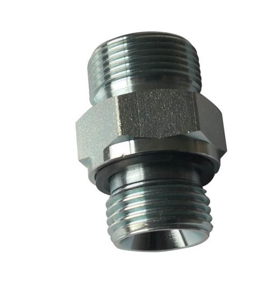 Quality O - Ring Metric Pipe Fittings Adapters 1EH Male S Series with Zine Plated for sale