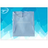 China Hospital Medical Disposable Scrub Suits PP White / Cloth Surgical Gowns on sale
