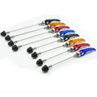 China 143/183mm Quick Release Skewer QR  Mountain Bike Bicycle Cycling Parts Red Black Blue Gold   Multi-color Useful wholesale