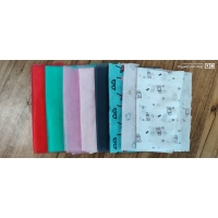 China colorful nonwoven fabric for face mask pink/green/red/BLACK/GREY on sale