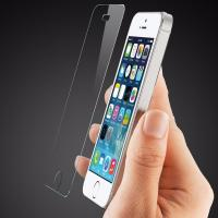 China Scratch Resistant Smudge Free Screen Protector , Iphone 5s Glass Screen Protector Film wholesale