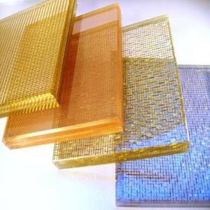China Aluminium Frame Laminated Glass Requirements Wall  Textured PVB Laminated wholesale