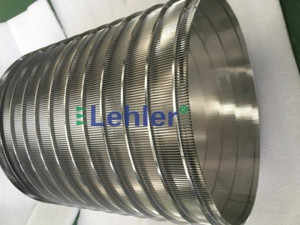 Quality 320*400mm Basket Screen Filter Panels , Lehler Wedge Wire Screen Filter for sale
