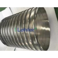 China 320*400mm Basket Screen Filter Panels , Lehler Wedge Wire Screen Filter wholesale