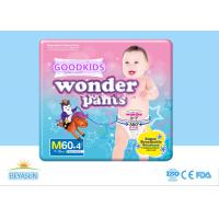 Buy cheap Breathable Baby Pull Up Pants Anti - Leak With Non Woven Fabric Materials from wholesalers