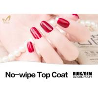 China 15ml Shinning Soak Off UV Top Coat For Natural Nails Customized Color wholesale