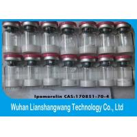 5mg / Vial Ipamorelin Human Growth Hormone Peptide , High Purity Peptides For Muscle Building