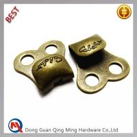 China Plating Antique Brass Finished Speed Lacers or Boot Hooks With Custom Logo on sale