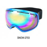 ski goggles orange  unisex snow ski