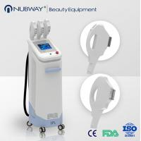 China beauty equipments/ newest design best quality 3 handles ipl hair removal salon machine wholesale