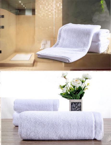 Quality Serviettes adaptées aux besoins du client de style d'hôtel biodégradables, lavage facile en bambou de serviettes de visage for sale
