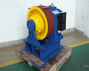 Quality 1600kg,2.5m/s Permanent Magnet Synchronous Geared planet traction machines for sale