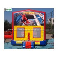 China Outdoor Spiderman Module Inflatable Bounce Houses For Birthday Party wholesale