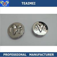 China 55mm Dodge Logo Cap ABS Plastic Alloy Auto Wheel Center Caps With Chrome Finish wholesale