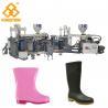 China Three Color Full Plastic Rain Boot Making Machine For PVC / TPR Raw Material wholesale
