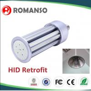 China 80 Watt 8400lm 360 Led Corn Bulb Compatible Inductive Ballast wholesale