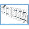 China Light Duty Galvanized Steel Wire Mesh Panels Zinc Plate Decking Fit Pallet Racks wholesale