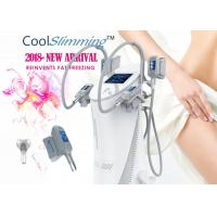 China 4 Handles Cryo Fat Freezing Machine Equipped With Self Cleaning System wholesale