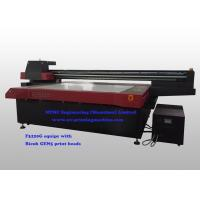 Buy cheap Wide Format 3200 x 2000 mm Flatbed UV Printer Machine With Vcuuming Platform from wholesalers