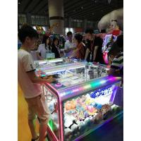 China Compact Size Arcade Games Machines With Led Lighting Crane Claw Games Type wholesale
