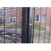 China Outdoor Prison Mesh 358 Security Fence / Steel Metal Security Fence Panels wholesale