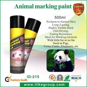Buy cheap Peinture de bétail/animale 750ml, OIN réfléchie élevée de peinture de jet/CE d'inscription de jet from wholesalers