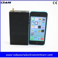 China HD COFDM Transmitter / 2 Way Audio Long Distance Video Transmitter for Public Security wholesale