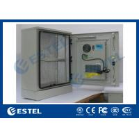 Buy cheap Stainless Steel Outdoor Telecom Cabinet With Cooling System / Air Conditioner Type Telecom Enclosure from wholesalers