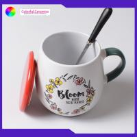 China Ceramic beer mug mugs with lid coffee cup Hand-painted ceramic cups wholesale
