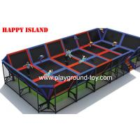 China New Popular Design Trampolines For Kids For Amusement Park wholesale