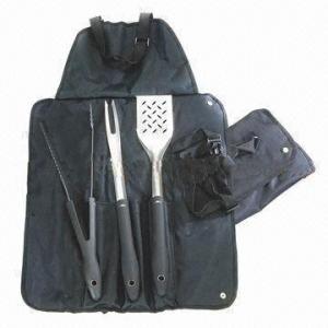 China Barbecue Tool Set with Satin Polish Blade wholesale