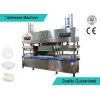 China Easy Operating Wood Fiber Paper Plate Manufacturing Machine Semi Automatic wholesale